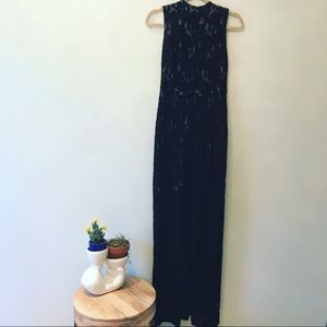 EUC Alice & Olivia Black Lace Overlay Dress 6